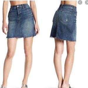 Mother jean mini skirt!
